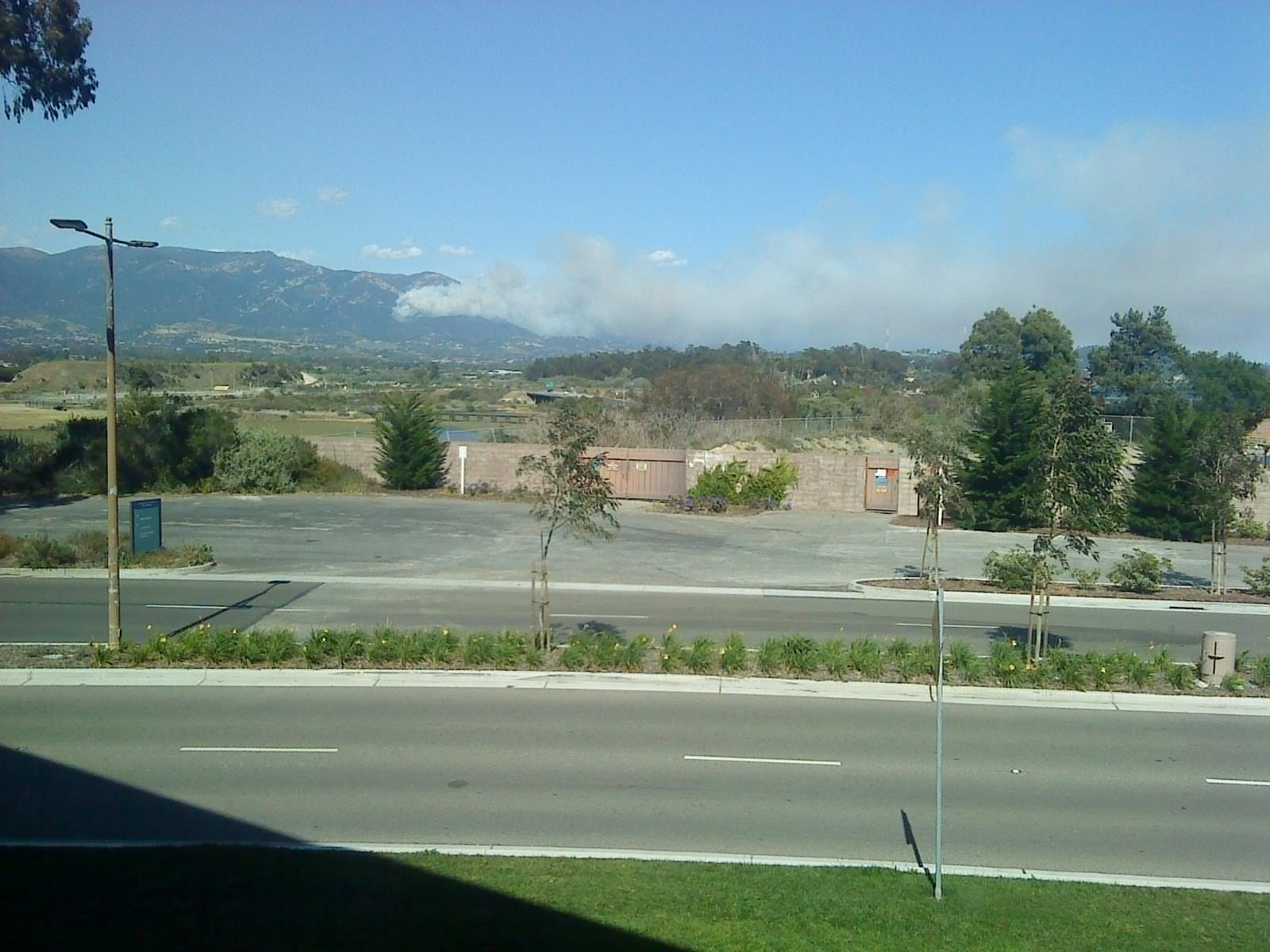 Another fire in the Santa Barbara hills!